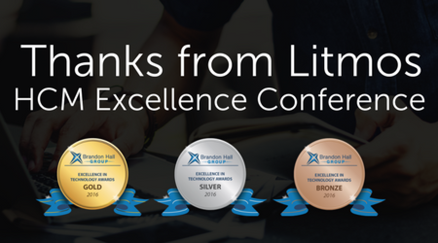 Litmos Takes Home the Gold...and MORE... at HCMx Awards 2017