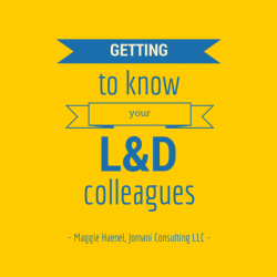 Getting to Know Your Learning Colleagues: Interview with Maggie Haenel